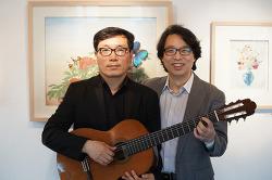 인사동 경인미술관의 작은 음악회 - 바리톤 남철우, 기타리스트 이우선
