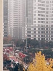 [속보] 삼성동 아이파크 아파트 25층에 헬기 충돌