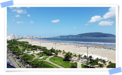 브라질 이민 이야기 바다가 아름다운 도시 펠레의 고향 산토스