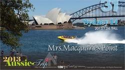 [D+14] Sydney 14 - Mrs. Macquaries Point 맥콰리스 포인트, 호주 시드니