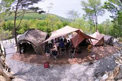 문복산 캠핑