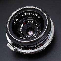 [Nikon] W-Nikkor C 2.8cm F3.5 (Revised)