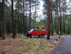 [미국캠핑 #4/4] 블랙 캐년 캠핑장 (Black Canyon Campground) - 산타페 뉴멕시코 주