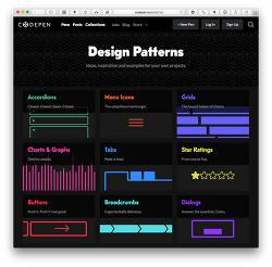 → Codepen(코드펜) :: 온라인에서 HTML, CSS, JavaScript 코드를 작성/수정하고 사이트 중 인기가 많은 곳