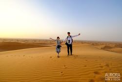 두바이 사막투어, 신비로운 두바이 사막 사파리 고고씽!!! 아라비아 사막 ~