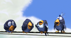 전선 위의 참새 For the Birds , 2000-픽사 단편 애니 시리즈2
