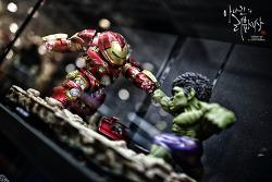 [피규어] 헐크버스터 VS 헐크 디오라마 촬영사진.