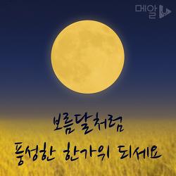 [메알] 추석맞이_보름달아 소원을 들어줘! 더빙 이벤트