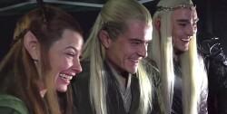 호빗(Hobbit) 팬의 리액션비디오에 대한, 엘프들의 리액션 바이럴.