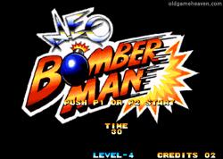 네오지오 게임 - 네오 봄버맨 (Neo BomBerman)