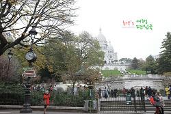 프랑스 파리 여행〃파리 예술의 중심. 몽마르뜨에 오르다