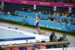 체조경기장  여자 평균대 결승   2014 인천아시안게임 Asian Games Incheon 2014