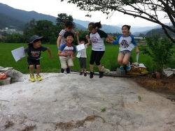 [도토리] 1박2일 어린이 숲 지킴이 도토리 가족캠프(점프사진, 가족사진)