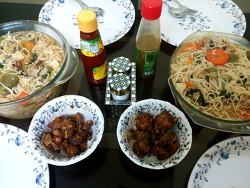 인도 콜카타에서 게스트하우스에 있는 동안 먹었던 음식들