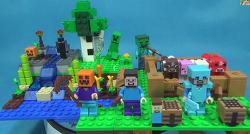 레고 21114 마인크래프트 농장 마이크로월드 팜 조립 리뷰 Lego Minecraft The Farm