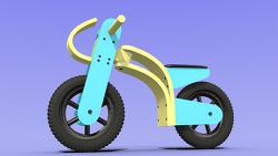 체인 없는 어린이 자전거 Coop