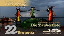 Bregenz - Mozart: Die Zauberflote 오스트리아 브레겐츠, 모짜르트 오페라 '마술피리' 감상