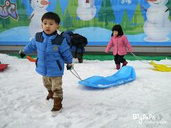 웅진플레이도시 눈썰매+뽀로로싱어롱쑈(영상)
