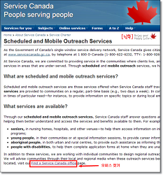 캐나다 SIN카드 발급하려는데 Service Canada Centre가 너무 멀다면? Outreach Site를 방문하시면 되요.