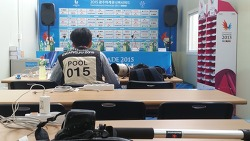 2015 광주 유니버시아드대회 취재 중 옛 추억의 장소에 가다
