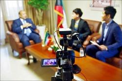 주한 쿠웨이트 대사님과 인터뷰  - 지셈 알데비위 (행사 사진)