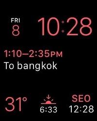 태국 끄라비 여행 5일차, 방콕으로