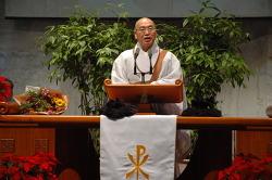 성탄절, 교회에서 듣는 스님의 성탄 축하 메세지