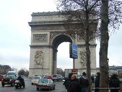 프랑스 파리 개선문, 샹제리제거리