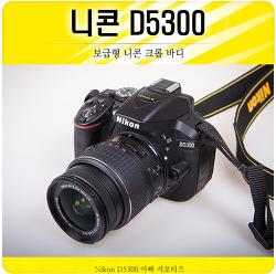 니콘 D5300 보급기 카메라가 이정도면 충분하지!