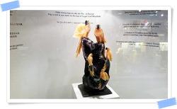 리우데자네이루에서 본 브라질 기념품 천연 돌 장식