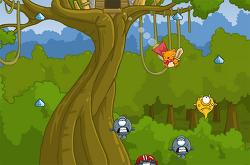 통통 튀며 숲의 평화를 지킨다 - Treehouse Hero