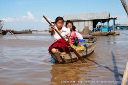 [캄보디아 여행] 톤레삽 호수 및 수상촌 관광 : 용감한 가족에 나온 톤레샵 호수