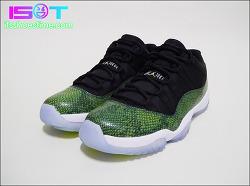 "Air Jordan 11 Retro Low ""Green Snake"" - IST Review | 에어 조던 11 리트로 로우 ""그린 스네이크"" - 잇츠슈즈타임 리뷰"