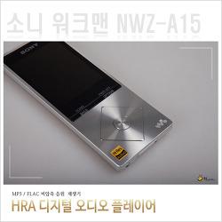 소니 워크맨 NWZ-A15 FLAC 원음 플레이어
