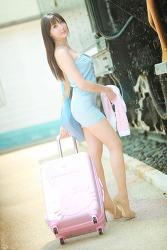하늘하늘한 그녀 MODEL: 연다빈 (4-PICS)