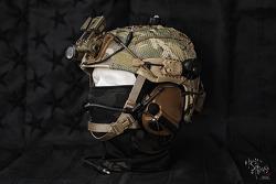 [Helmet] Airframe setup.