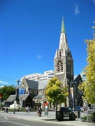 [뉴질랜드]지진에 무너지기 이전의 크라이스처치 대성당 모습