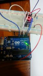 아두이노 7 segment LED 디지털 튜브