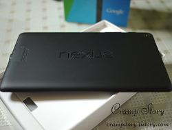 넥서스7 (nexus7) 2013 wifi 리뷰 - 외형편