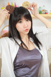 그녀는 귀여운 쿠키소녀 'ㅡ' MODEL: 연다빈 (9-PICS)