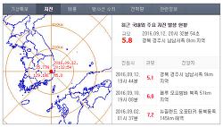 지진 대피요령,경주 지진