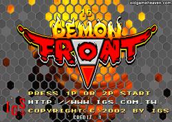 데몬프론트 (Demon Front)