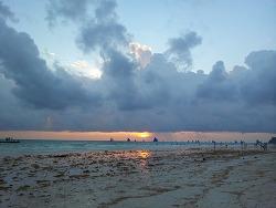 필리핀 보라카이 제1일 - 해변 야경