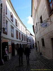 1602 동유럽, 발칸 패키지 8일: 체스키크롬로프 구시가지 (2)