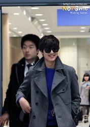 130119 인천공항 '아시아 최고인기상 수상축하 마중♥'