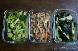 후다닥 만든 다이어트에 좋은 반찬 3가지 *^^*