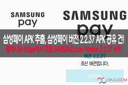 삼성페이 apk 추출,Samsung Pay apk Version 2.2.37 apk 다운로드!