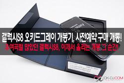 삼성 갤럭시S8 오키드그레이 개봉기, 갤럭시S8 사전예약 구매 개통!