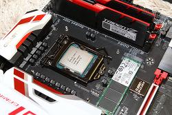 i7 6700K 오버클러킹 기가바이트 G1 Gaming7 TRIDENT Z 조합