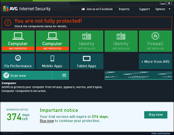 무료백신추천 Free AVG Internet Security 2014 (free)